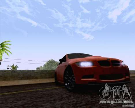 BMW M3 GT-S Fixed Edition for GTA San Andreas right view