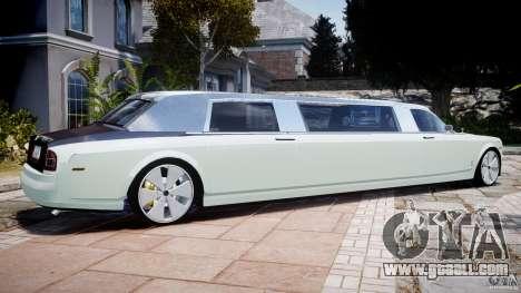 Rolls Royce Phantom Sapphire Limousine Disco for GTA 4 left view