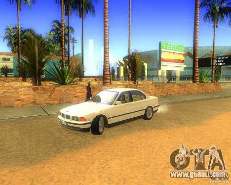 BMW 735i for GTA San Andreas