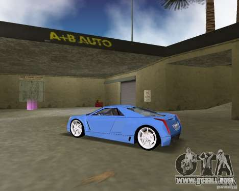 Cadillac Cien for GTA Vice City left view