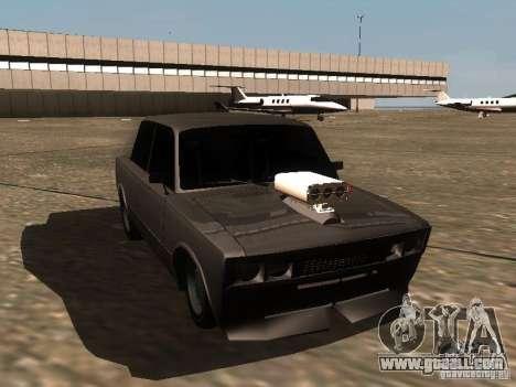 VAZ 2106 Drag Racing for GTA San Andreas inner view