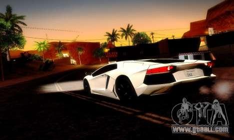 Lamborghini Aventador LP 700-4 for GTA San Andreas side view