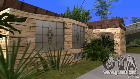 New textures of houses and garages for GTA San Andreas forth screenshot
