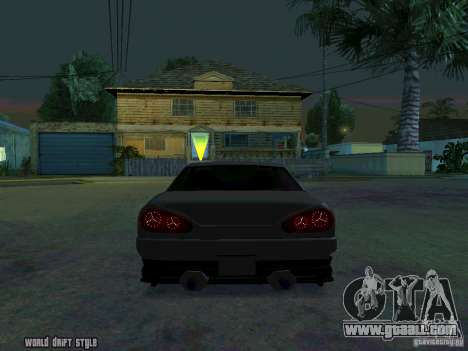 ELEGY BY CREDDY for GTA San Andreas back left view