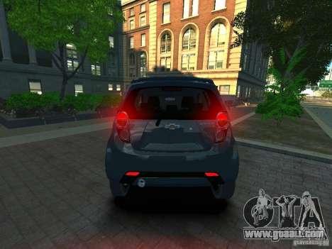 Chevrolet Spark for GTA 4 back left view