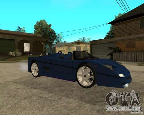 Ferrari F50 - special tuning by JvtDeSiGn for GTA San Andreas right view