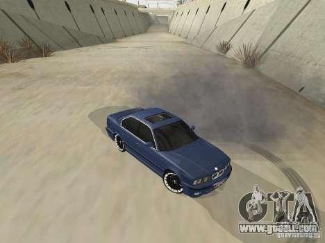 BMW M5 E34 V2.0 for GTA San Andreas left view