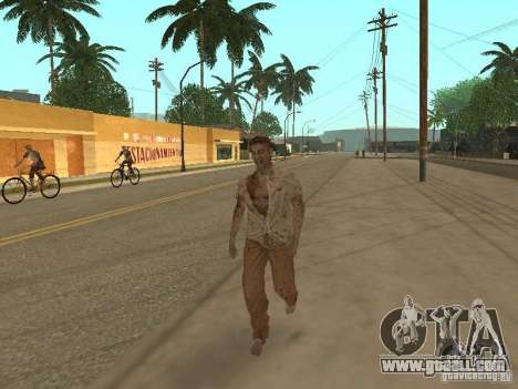Zombie for GTA San Andreas forth screenshot