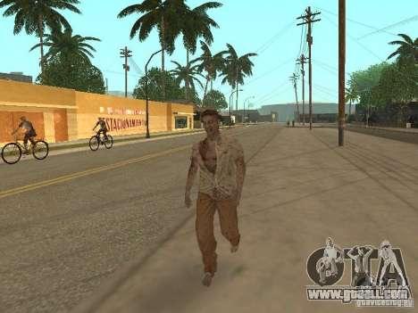 Zombie for GTA San Andreas forth screenshot