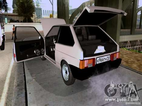 VAZ 2108 drain for GTA San Andreas back view