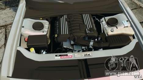 Dodge Challenger SRT8 392 2012 for GTA 4 upper view