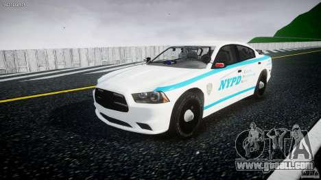 Dodge Charger NYPD 2012 [ELS] for GTA 4