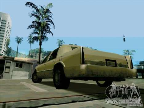A Short Limousine for GTA San Andreas back left view