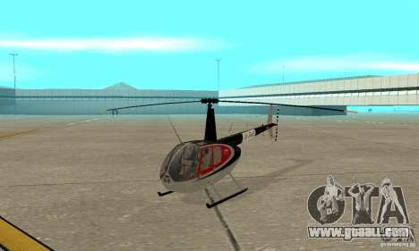Robinson R44 Raven II NC 1.0 Skin 2 for GTA San Andreas left view
