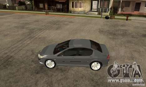 Peugeot 407 for GTA San Andreas left view