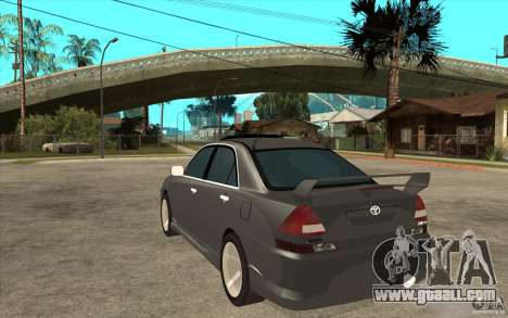 TOYOTA MARK II RY for GTA San Andreas back left view