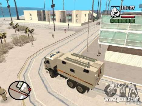 KAMAZ MES version 2 for GTA San Andreas back left view