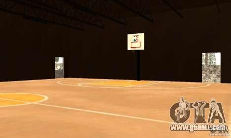 Basketball Court v6.0 for GTA San Andreas