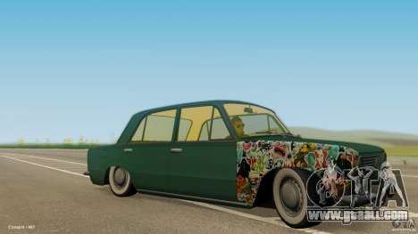 VAZ 2101 Low & Classic for GTA San Andreas
