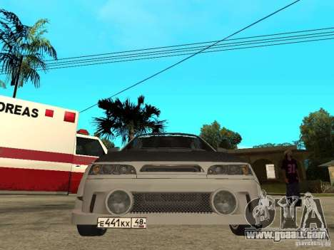 VAZ 2110 WRC 2.0 for GTA San Andreas right view
