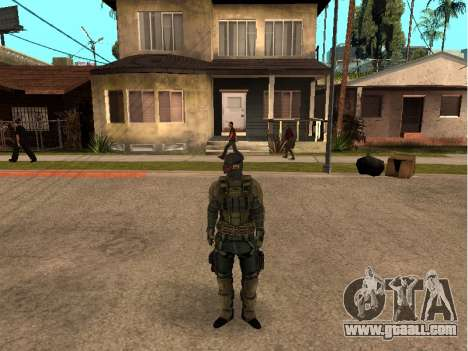 The skin army engineer for GTA San Andreas