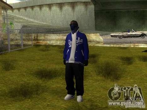 Crips for GTA San Andreas seventh screenshot