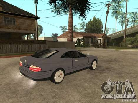 Mercedes-Benz CLK320 Coupe for GTA San Andreas right view
