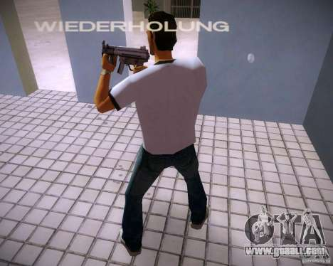 MP5K for GTA Vice City third screenshot