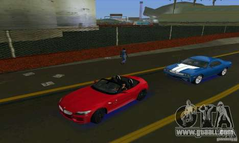 BMW Z4 V10 2011 for GTA Vice City