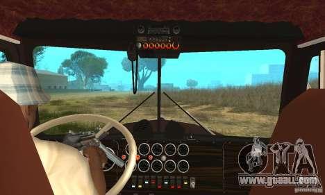 Kenworth Car Hauler for GTA San Andreas right view