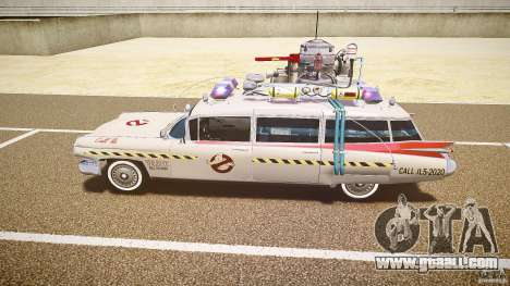 Ecto-1 (ghost hunters) Final for GTA 4 back left view