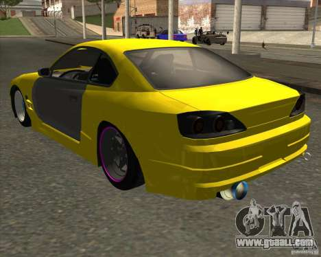 Nissan S330SX Japan SHK style for GTA San Andreas left view