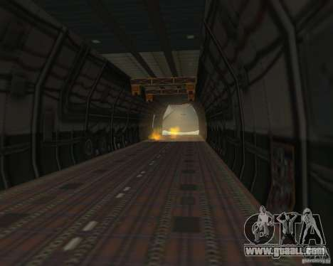The an-225 Mriya for GTA San Andreas right view