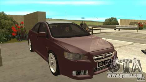Proton Inspira v1 for GTA San Andreas back view
