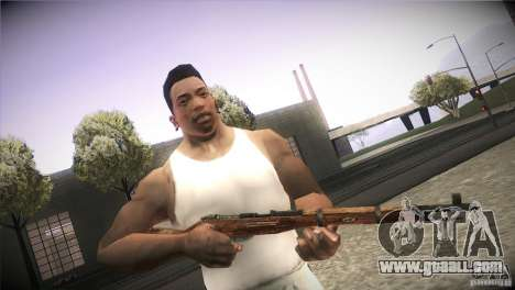 Weapon Pack by GVC Team for GTA San Andreas ninth screenshot