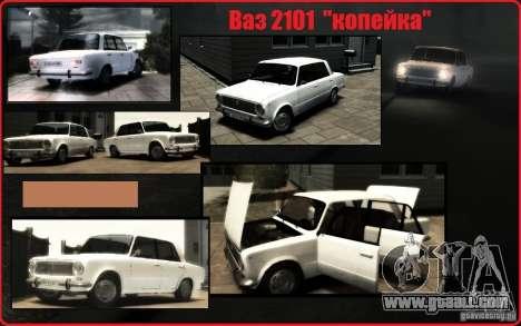 VAZ 2101 KOPEK for GTA 4