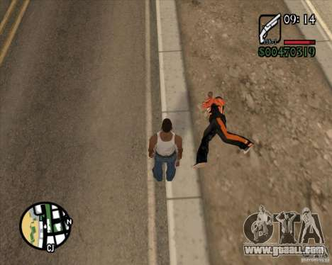 Endorphin Mod v.3 for GTA San Andreas seventh screenshot