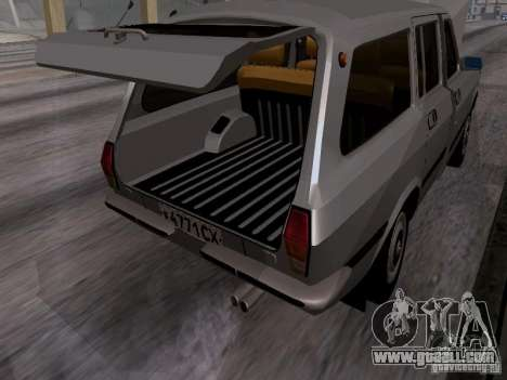 GAZ 24-12 SL Volga for GTA San Andreas inner view