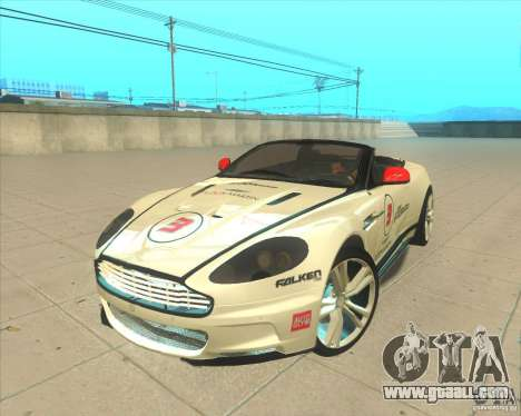 Aston Martin DBS Volante 2009 for GTA San Andreas inner view