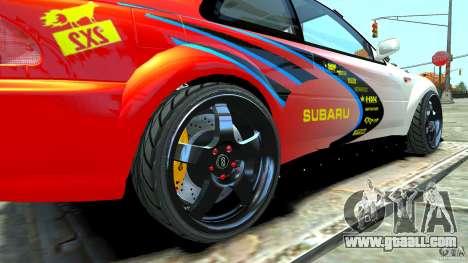 Subaru Impreza 22B STI 1999 for GTA 4 right view