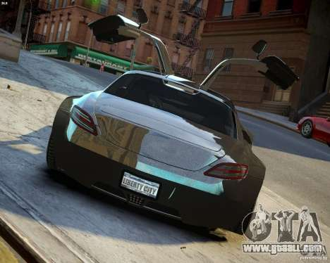 Mercedes SLS Extreme for GTA 4 side view