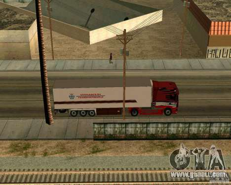 Scania TopLine for GTA San Andreas back view