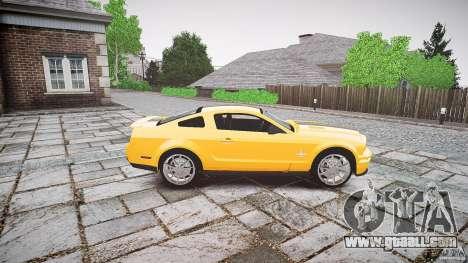 Shelby GT 500 KR 2008 K.I.T.T. for GTA 4 inner view