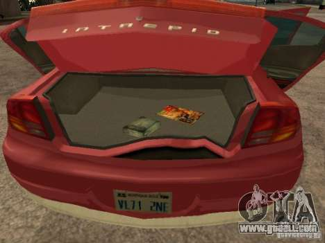 Dodge Intrepid for GTA San Andreas right view