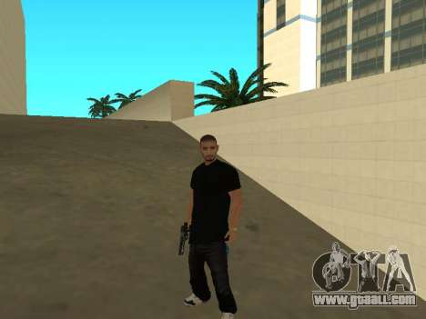 Black Rifa SkinPack for GTA San Andreas second screenshot