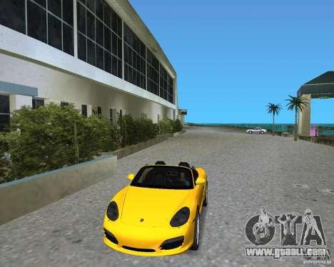 Porsche Boxster 2010 for GTA Vice City
