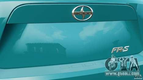 Scion FR-S for GTA 4 wheels