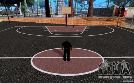 The new basketball court for GTA San Andreas forth screenshot