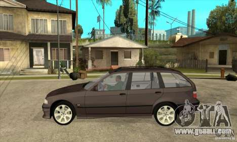 BMW 318i Touring for GTA San Andreas back left view