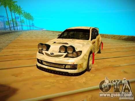 Subaru Impreza WRX STi N14 Rallycross for GTA San Andreas
